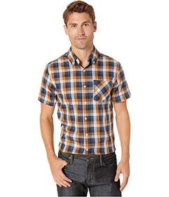 Ben Sherman Short Sleeve Diamond Twill Check Shirt