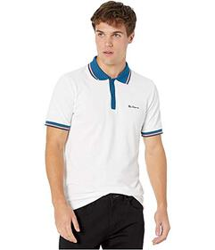 Ben Sherman Birdseye Placket Polo