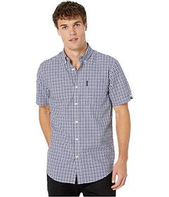 Ben Sherman Short Sleeve Micro Check Dobby Shirt