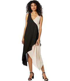 BCBGMAXAZRIA Asymmetrical Hem Dress