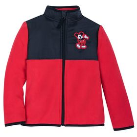 Disney Mickey Mouse Pieced Fleece Jacket for Kids