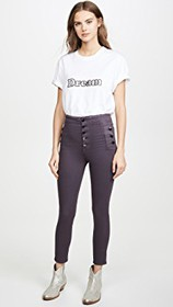 J Brand Natasha Coated Sky High Skinny Jeans