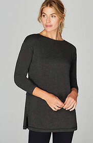 Fit Fleece Side-Zip Tunic