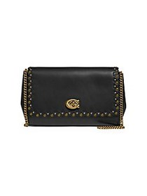 COACH Small Alexa Embellished Leather Convertible