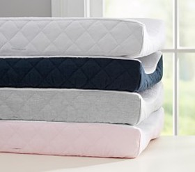 Pottery Barn Belgian Flax Linen Terry Changing Pad