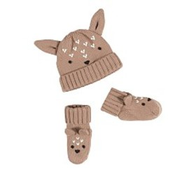 Pottery Barn Fawn Hat and Bootie Sets
