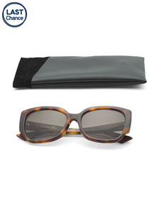 DIOR Made In Italy 57mm Cat Eye Designer Sunglasse