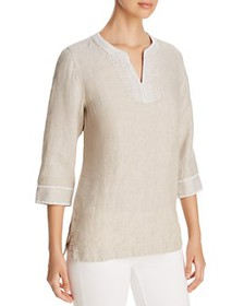 Tommy Bahama - Palmbray Embroidered Linen Tunic