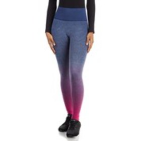 RYKA Seamless Ombre Stripe Active Capri Leggings