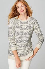 Allover Fair Isle Pullover