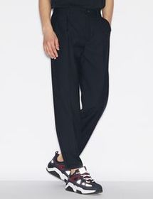Armani TROUSERS WITH TURN-UP