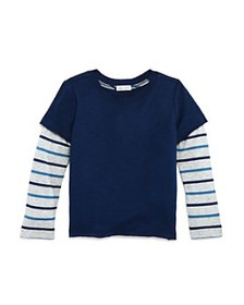 Splendid - Boys' Striped Layered-Look Tee - Little