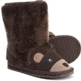 EMU Australia Brown Bear Shearling Boots (For Boys