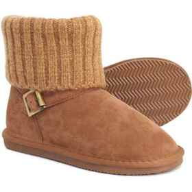 LAMO Footwear Hurry Zip Shearling Boots - Suede (F