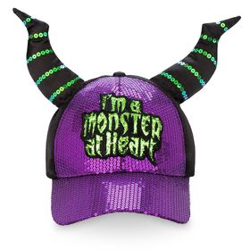 Disney Maleficent Sequin Horned Cap for Adults