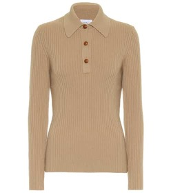 Salvatore Ferragamo Wool-blend polo shirt