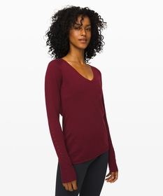 Stand Steady V-Neck Sweater *Online Only | Women's
