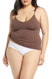 Halogen® Seamless Two-Way Camisole (Plus Size)