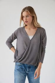 Out From Under Skyla Surplice Sweater