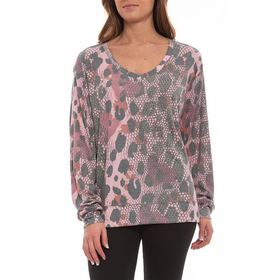 Playground T-Shirt - V-Neck, Long Sleeve (For Wome