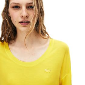 Lacoste Women's Motion Lightweight Ribbed Lyocell
