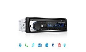 Bluetooth Car Stereo Audio In-Dash FM Aux Input Re