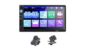 7 Inch DOUBLE 2DIN Car MP5 Player BT Touch Screen
