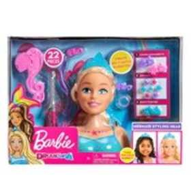 BARBIE Barbie Dreamtopia Styling Head 22-Piece Set