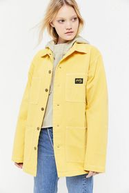 Stan Ray Button-Front Shop Jacket
