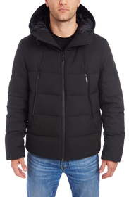 Vince Camuto Hooded Stretch Puffer Jacket