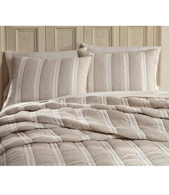 Southern Living Blair Stripe Linen Quilt Mini Set