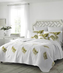 Tommy Bahama Breezeway Embroidered Quilt
