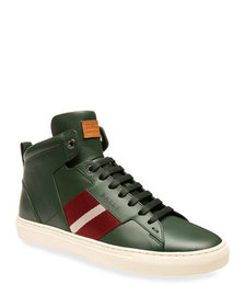 Bally Men's Hedern Trainspotting Leather High-Top