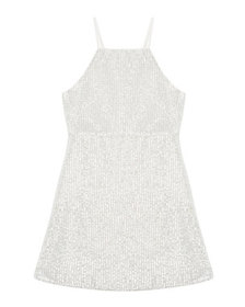 Bardot Junior Averly Sequined Slip Dress, Size 8-1