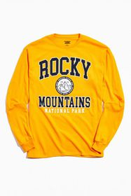 Rocky Mountains Arch Long Sleeve Tee