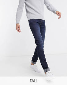 French Connection Tall skinny fit mid wash jeans