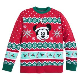 Disney Mickey Mouse Family Holiday Sweater for Men