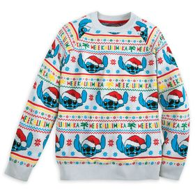 Disney Stitch Light-Up Holiday Sweater for Adults