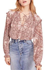 Free People Little Runaway Blouse