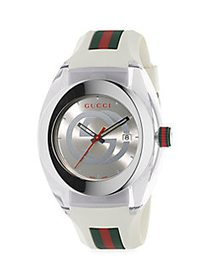 Gucci Sync Stainless Steel & Rubber-Strap Watch NO