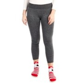 SHO SHO Juniors Seamless Fleece Lined Leggings wit