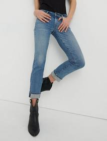 Lucky Brand Mid Rise Sweet Crop Jean