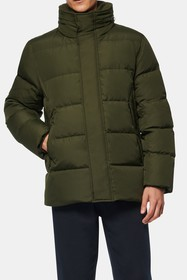 Andrew Marc Carlton Packable Hood Quilted Puffer J