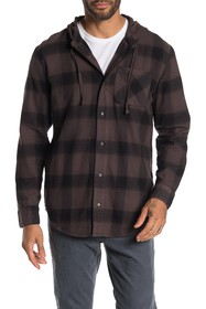Threads 4 Thought Schuyler Plaid Hooded Shirt