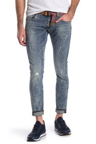 G-STAR RAW Deconstructed Ripped Skinny Jeans