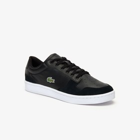 Lacoste Men's Masters Cup Leather and Suede Sneake