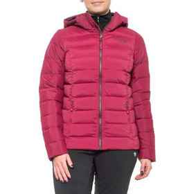The North Face Stretch Down Hooded Jacket (For Wom
