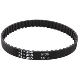 T5x260 52-Tooth 10mm Width Black Synchronous Timin