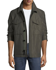 TOM FORD Men's Sateen Military Blouson Jacket