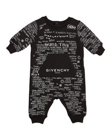 Givenchy Allover City Print Coverall, Size 6-18 Mo